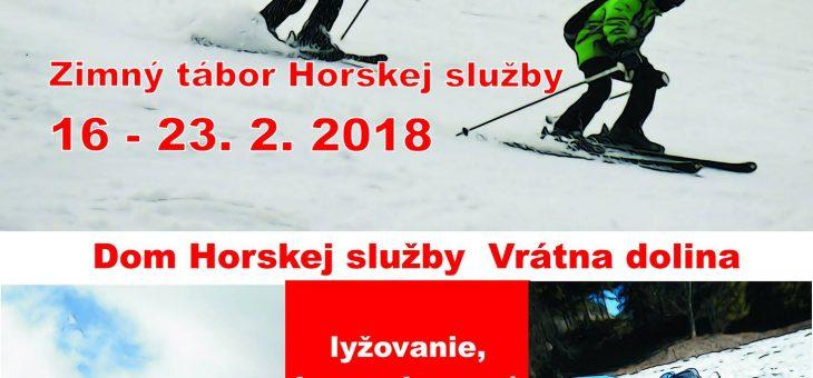 Zimný tábor 2018